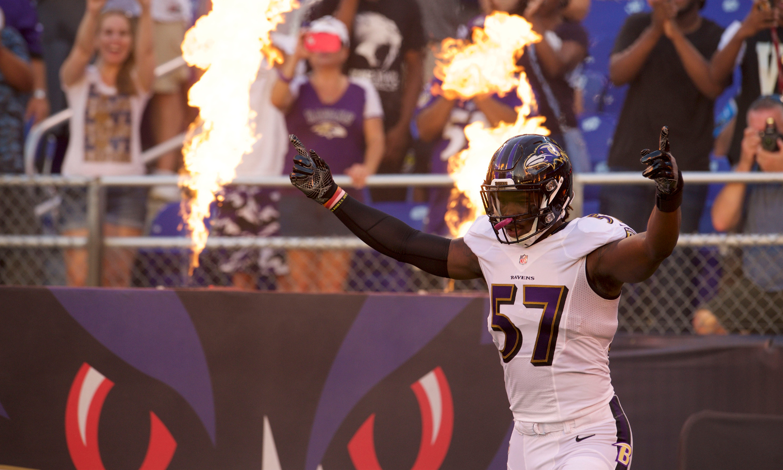 C J Mosley powers Ravens to shutout over Bengals