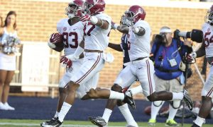 Johnathan Allen's touchdown was just more reason you should never count out the Tide (Photo-TDA.com)