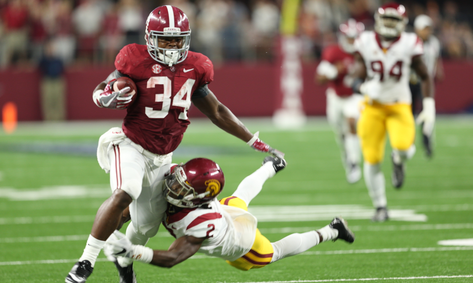 Tide Rb Damien Harris Drops Weight Adding Speed
