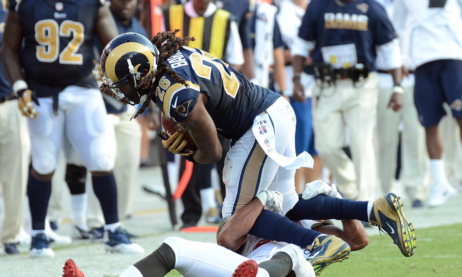 reputable site 95983 26e5b Alabama in the NFL: Mark Barron's Move to Linebacker ...