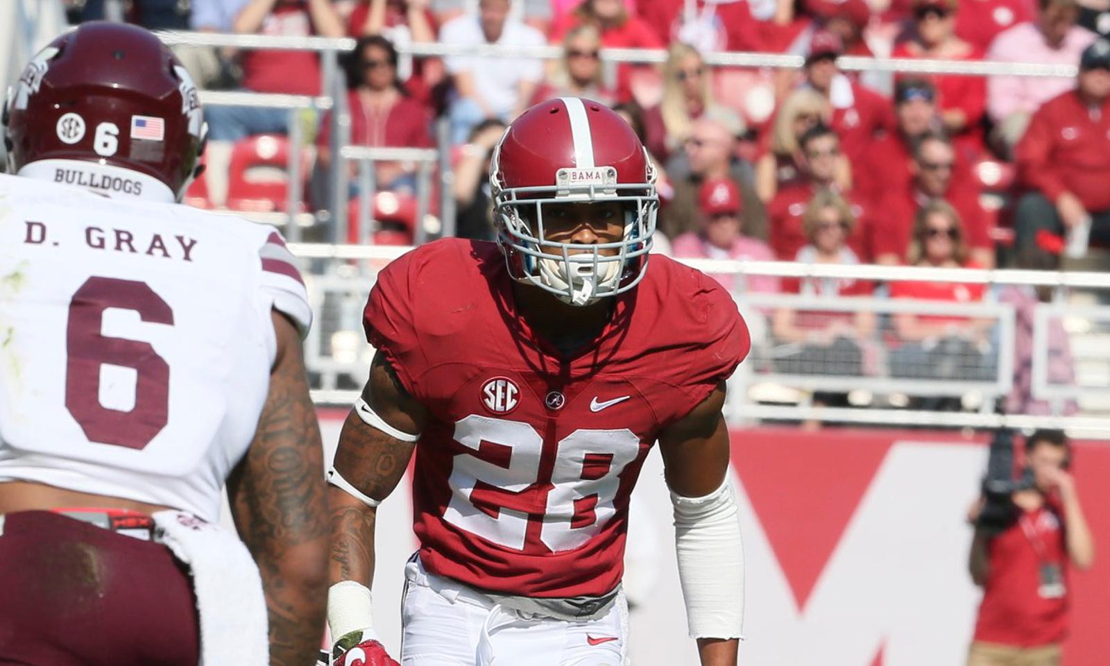Alabama's Anthony Averett dominates Mississippi State's WRs in ...