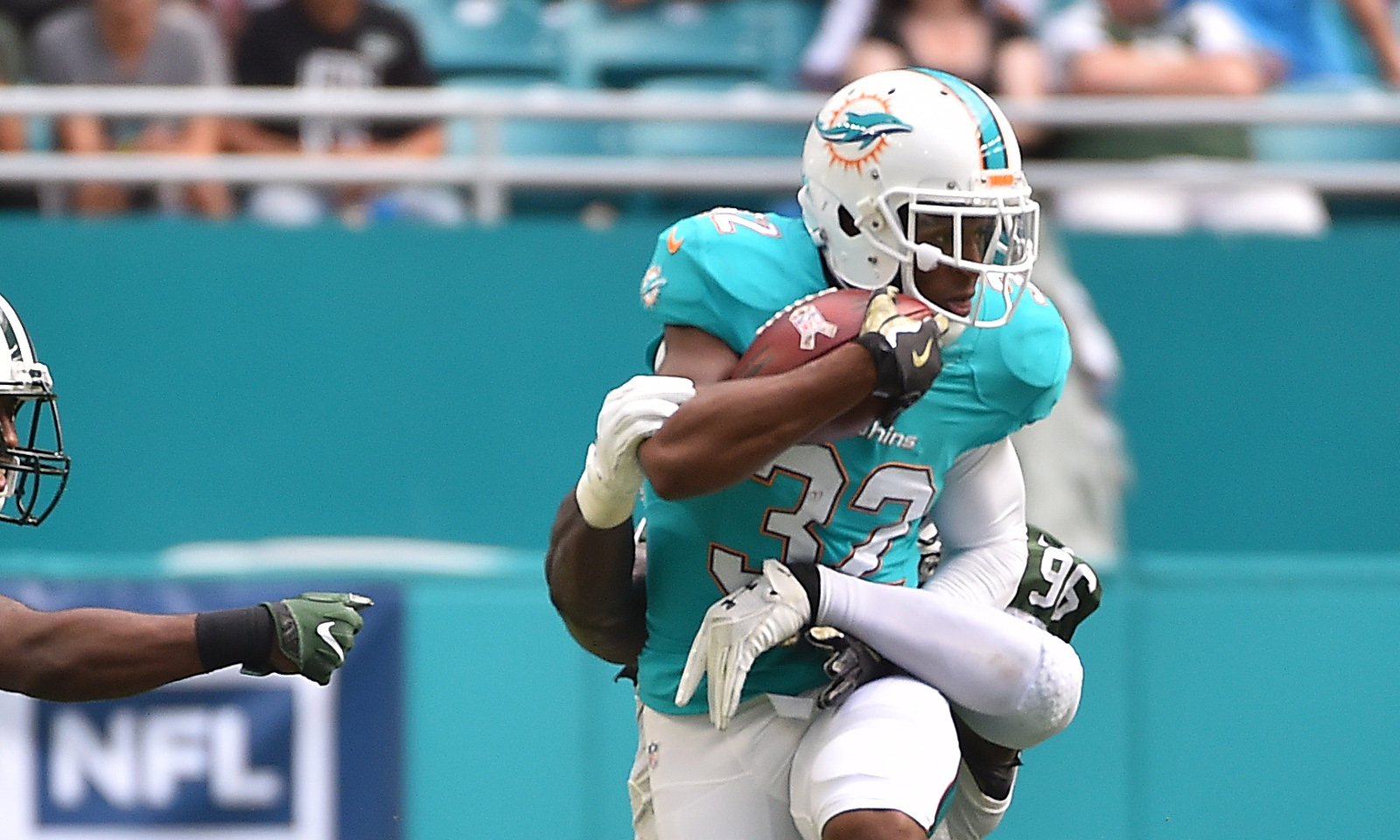 buy popular c461d f7408 Kenyan Drake to possibly take over at RB for Dolphins