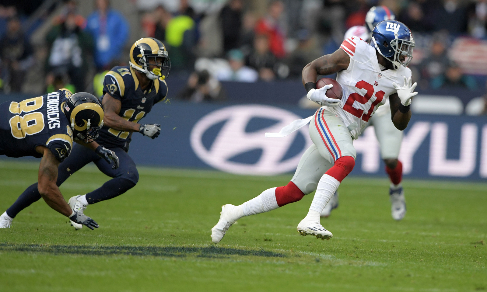 New York Giants safety Landon Collins wins back to back NFC