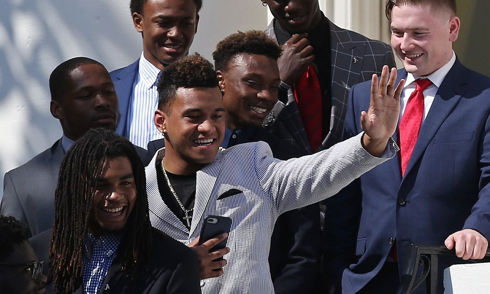 Tua Tagovailoa visits the White House