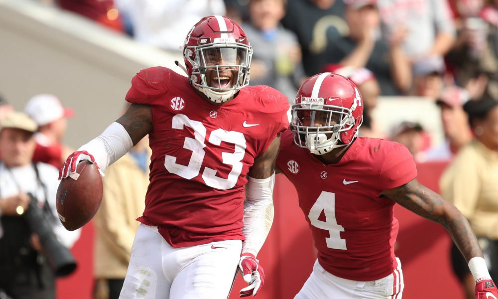 Two Of Six Draft Eligible Players Will Return To Alabama Football