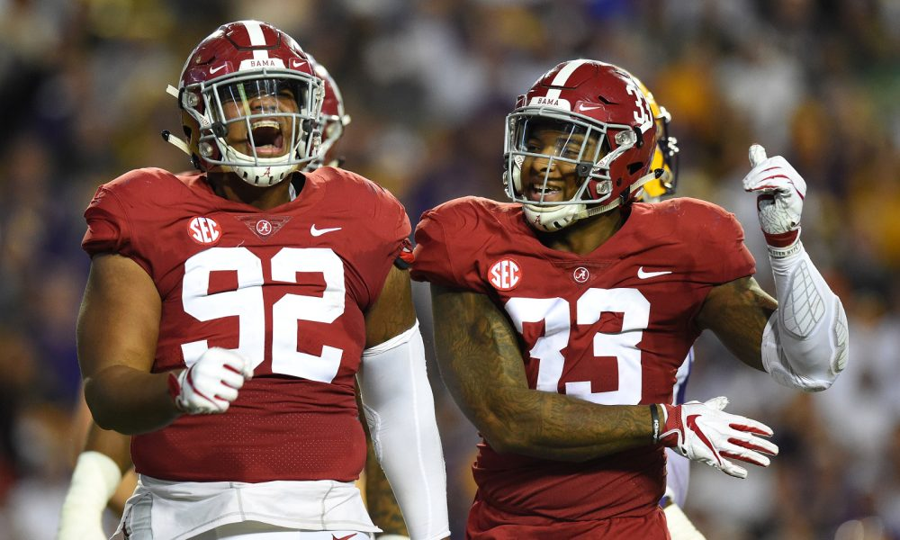 Alabama defense makes statment in shutting out Tigers 995871d82