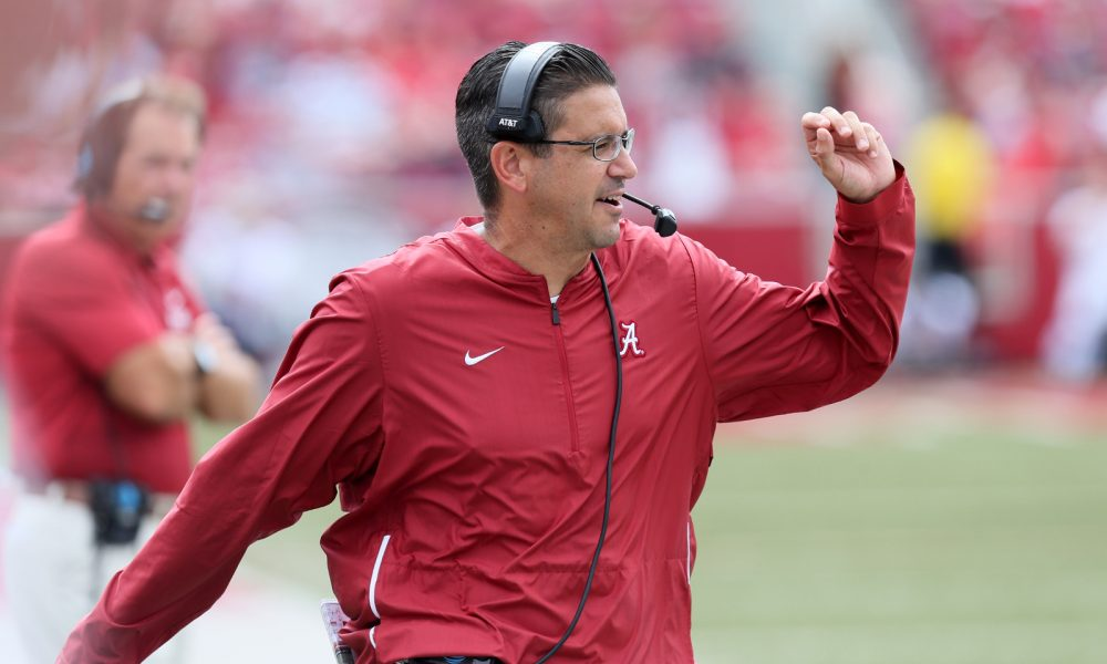 Alabama Special Teams coach Jeff Banks