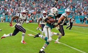Kenyan Drake game-winning touchdown run against Patriots