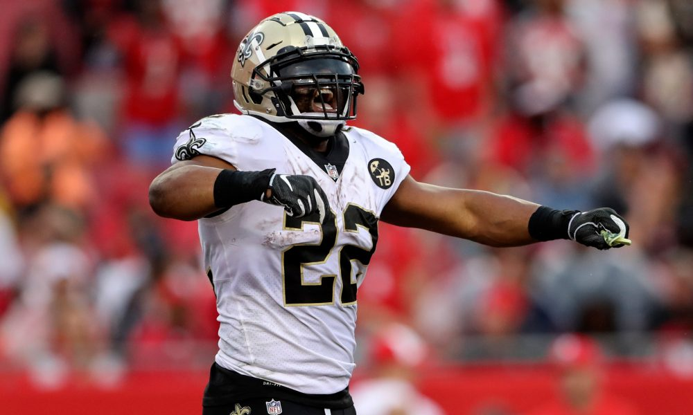 new arrival 367b2 3329d RB Mark Ingram ties Saints' career touchdown record