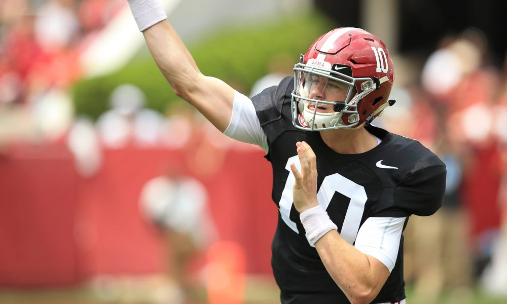 69b775f14 Alabama needs Mac Jones, two others to be ready at QB for this season