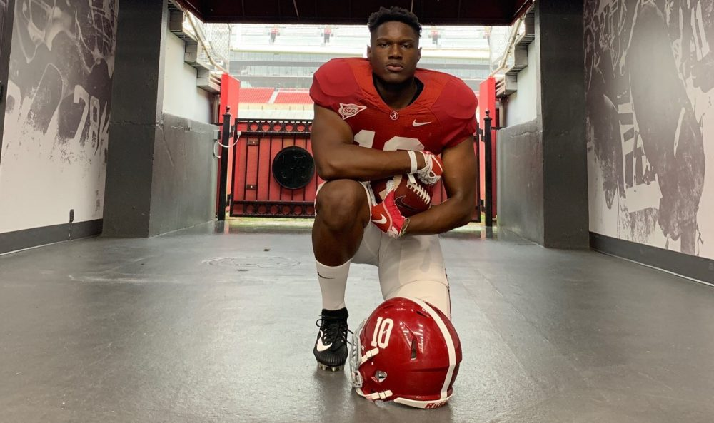 Monkell Goodwine poses for pictured during visit to Alabama