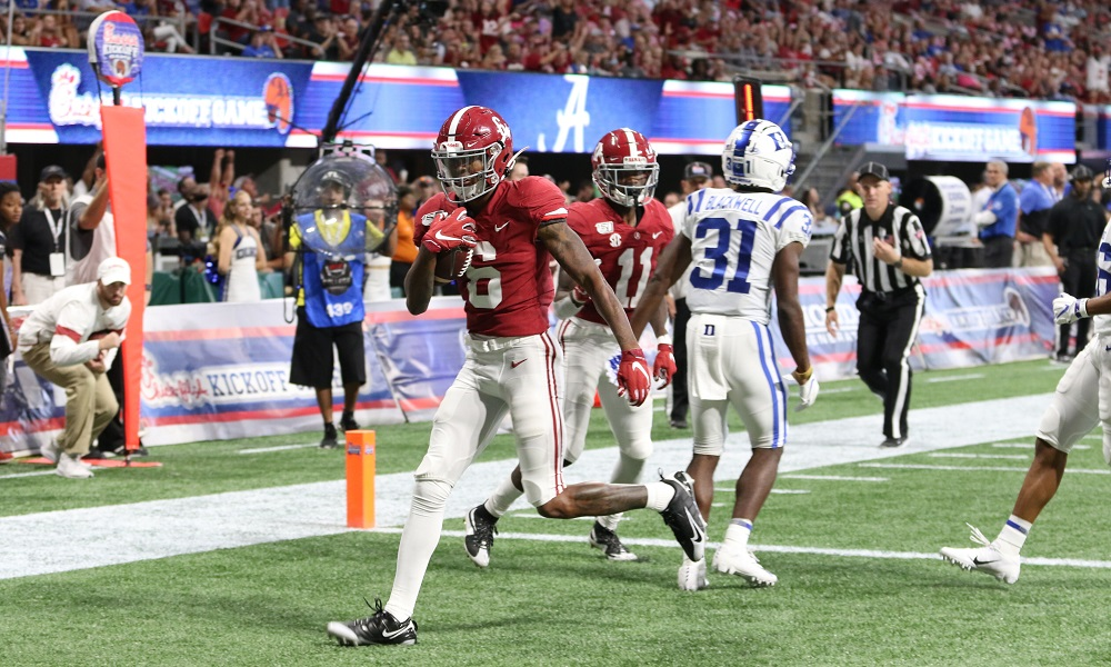 Devonta smith duke touchdown