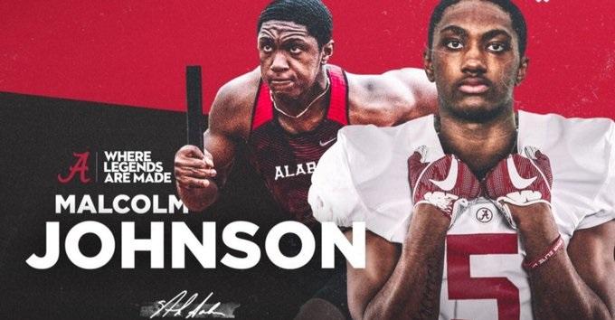 Malcolm Johnson Jr. Alabama Graphic