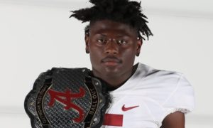 Alabama 4-Star Safety commit Kaine Williama