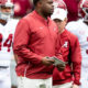 Alabama's assistant coahes are dominating / Charles Huff on sideline