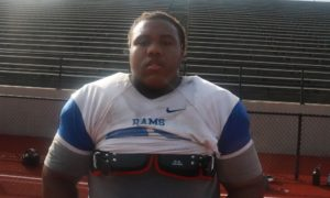 Tim Keenan III at Ramsey practice ahead of commitment announcement