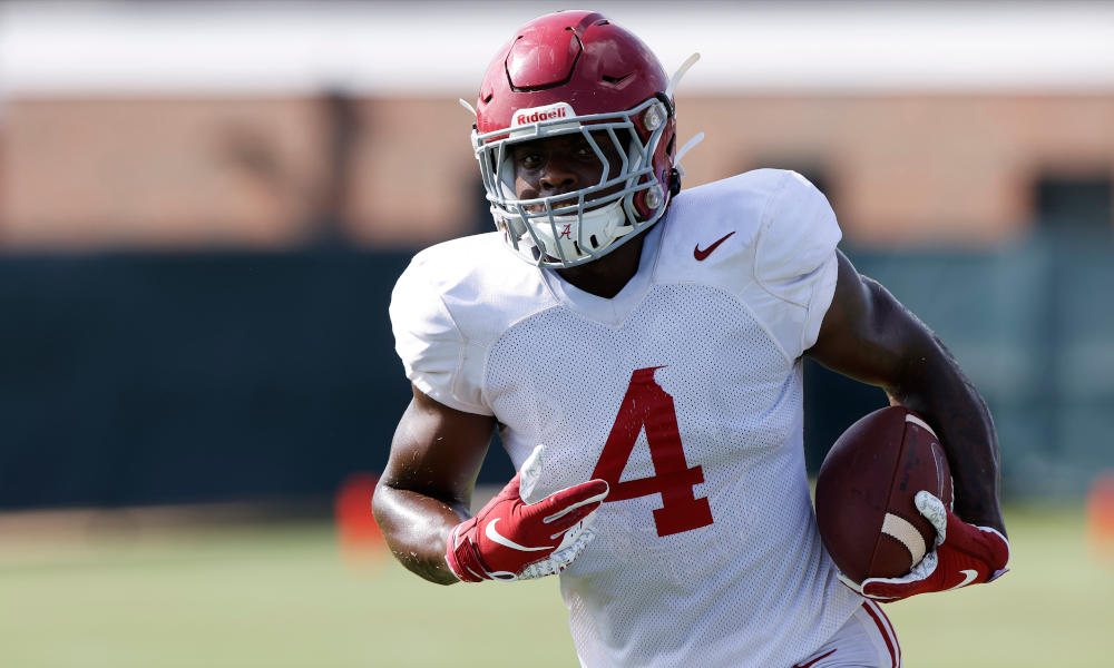 Alabama Running Back Trey Sanders in Stable Condition After Car Crash