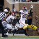 Dylan Moses closes in on Missouri quarterback Shawn Robinson