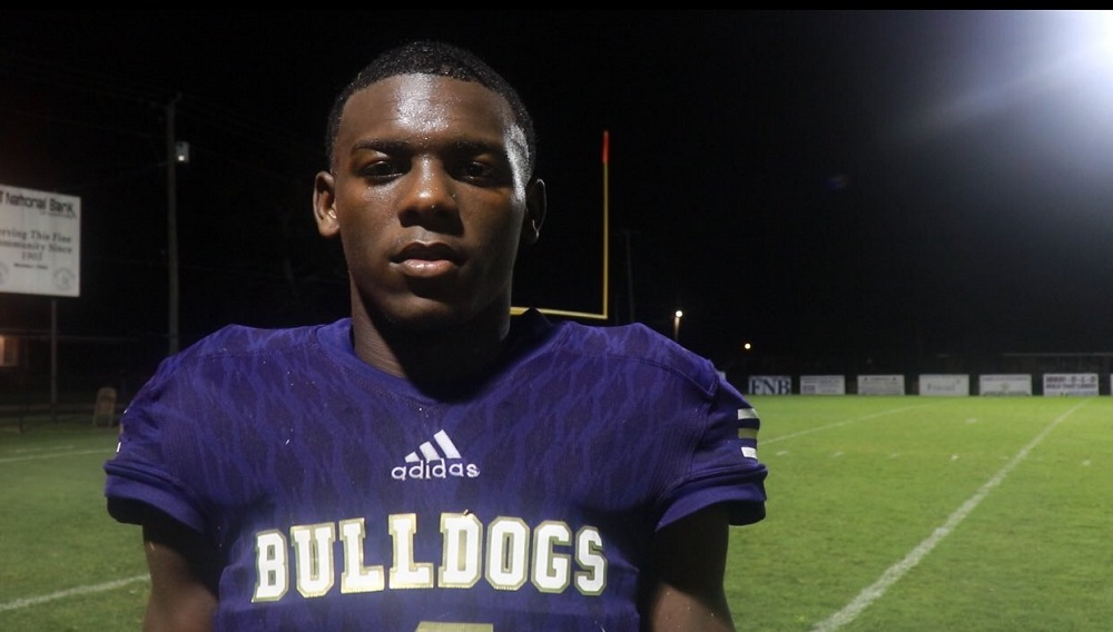 Emmanuel Henderson after Geneva County victory over Arition in Hardford Alabama