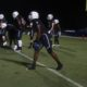 Alabama commit Jacorey Brooks lines up before a play begins