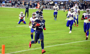 Derrick Henry scores rushing touchdown for Titans versus Bills