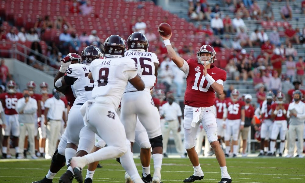 Alabama Coaching Staff Releases Its Players Of The Week From Tamu Game