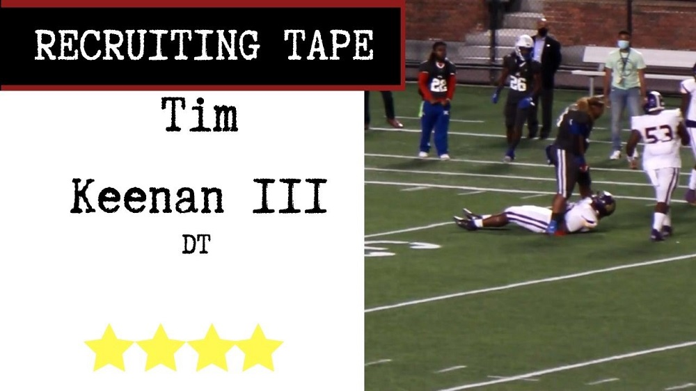 Tim Keenan III Recruiting Tape Edit