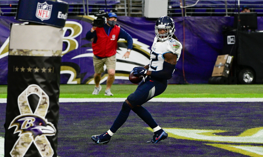 Derrick Henry scores game-winning TD for Titans versus Ravens