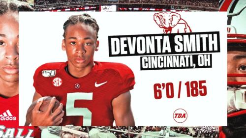 Deovonta Smith committed