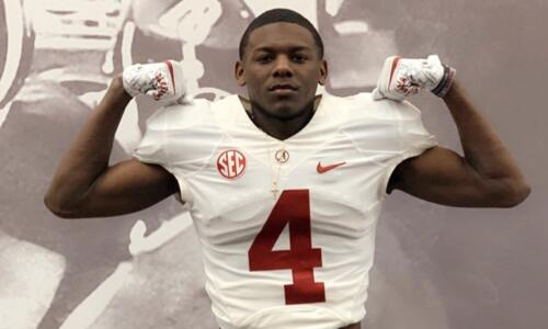 2022 running back Emmanuel Henderson visiting Alabama football